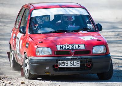 Car 59: Matt Endean / Suze Endean, Nissan Micra