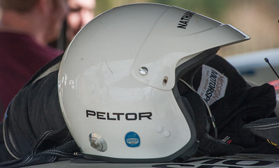 A polished helmet