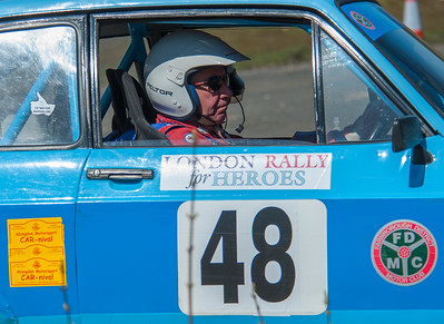 Car 48: Maurice May / Adam Quinn, Ford Escort