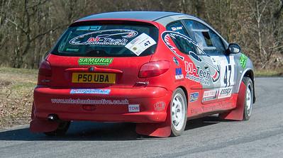 Car 47: Mac Jessop / Amber Jessop, Peugeot 206GT
