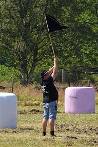 Startmannen med flaggan