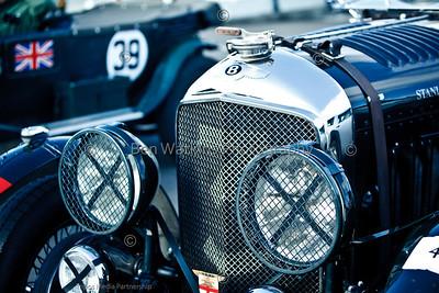 Stanley Mann - 1929 Bentley 4½ Le Mans VDP