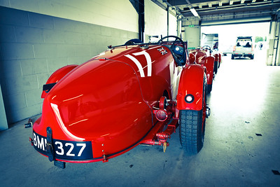 BML 327 (LM17) Aston Martin Ulster - Built for the 1934 Le Mans 24 Hours race.  Raced by Holly Mason-Franchitti.  (8982)