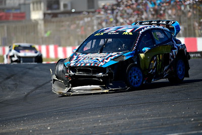 Ken Block after finish line