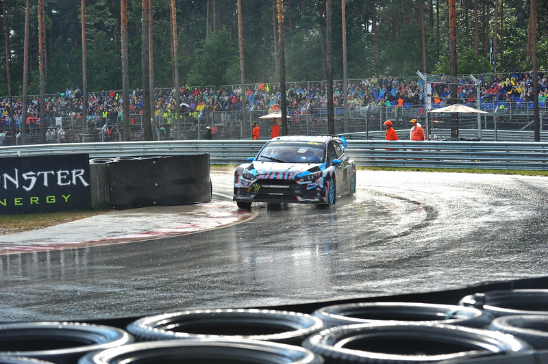 Bakkerud entring the Joker