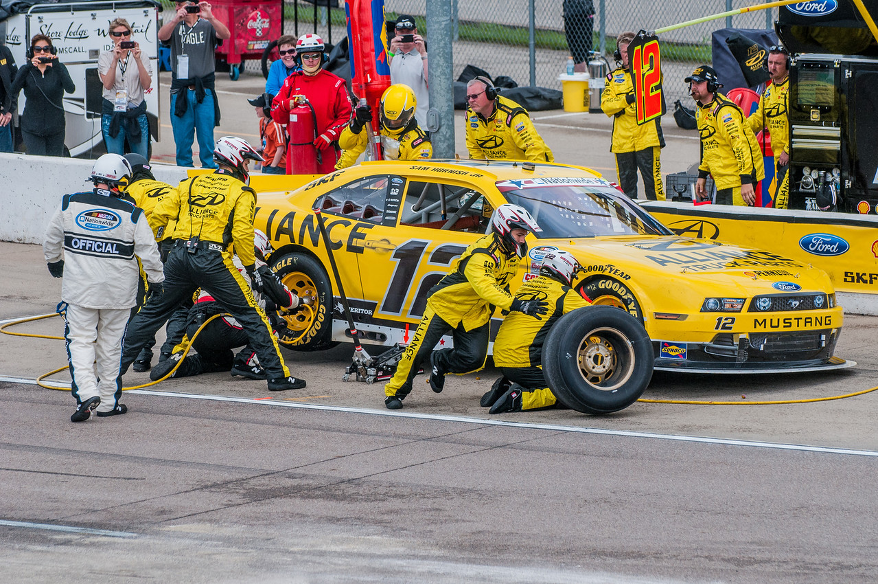 The DuPont Pioneer 250 NASCAR Nationwide Series at The Iowa Speedway on Sunday, June 9, 2013. - Michael Gatzke