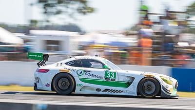 Race winning GTLD car #33 Mercedes-AMG GT3