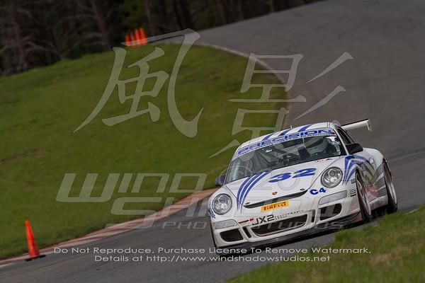 32 White Porsche