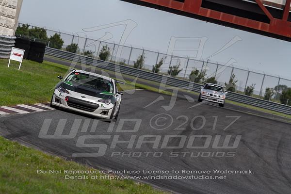 86 White Subaru
