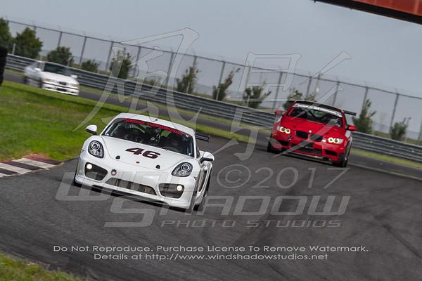 46 White Porsche