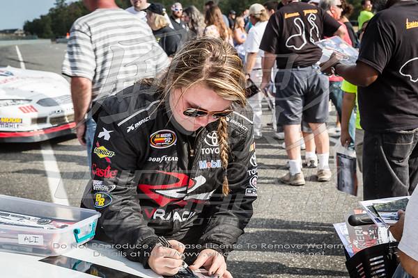 NASCAR K&N Pro Just Drive 125 Fan Walk