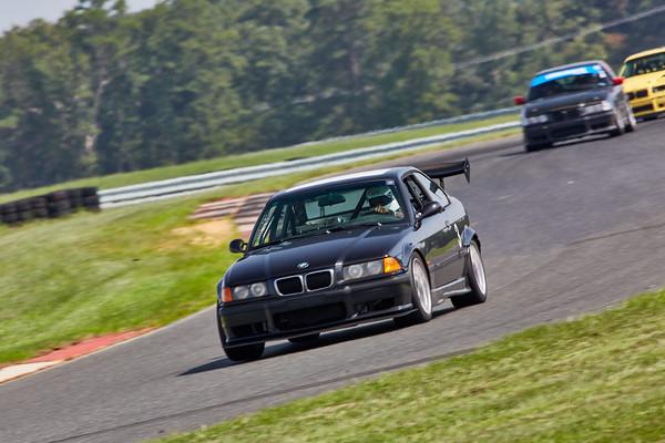3 Black BMW