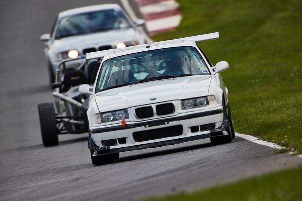 -- White BMW