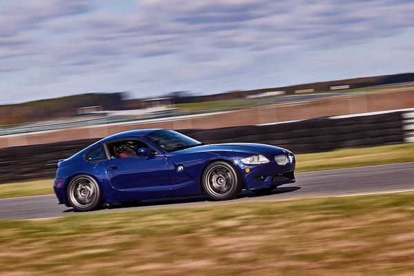-- Blue BMW