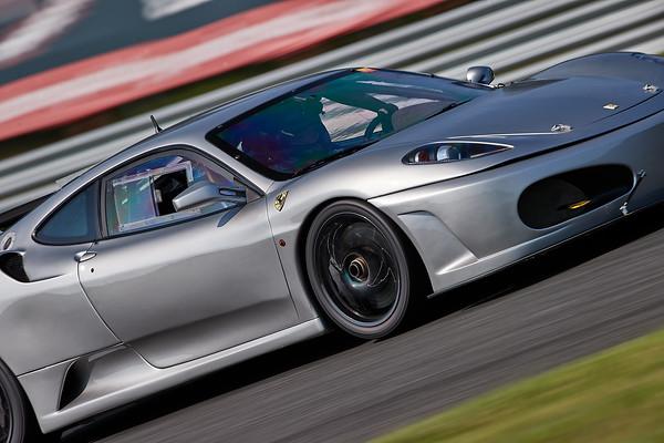 -- Silver Ferrari