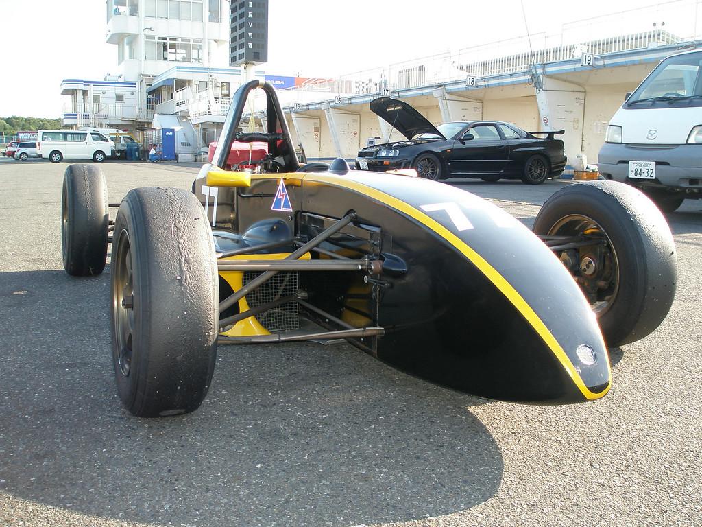my 'old' formula japan car