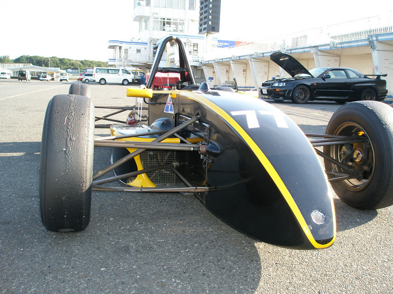 my 'old' formula japan car