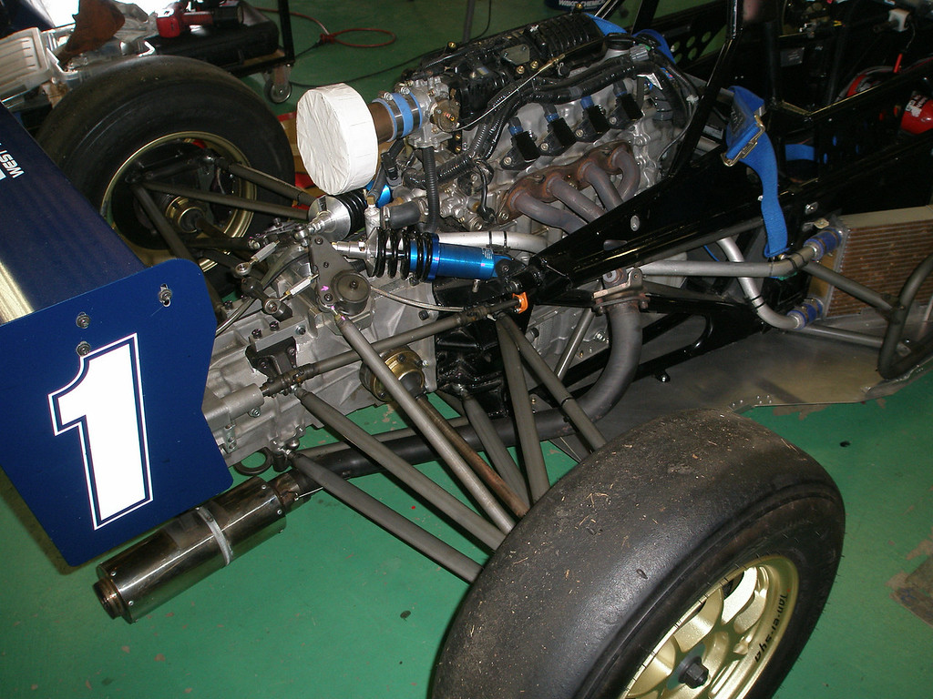 honda engine and toda f4 gearbox