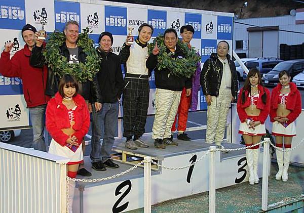 2nd place - 6 hr endurance race Nov 20013
