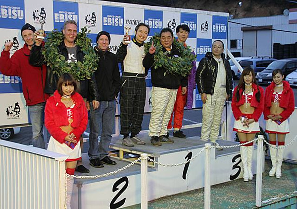 2nd place - 6 hr endurance race Nov 20013