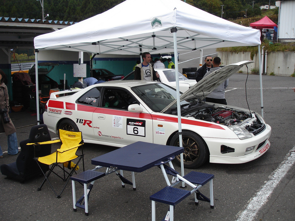 Our pits in the over subscribed race event