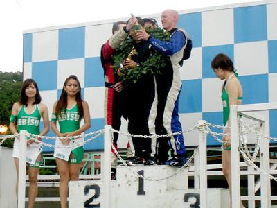 WE WIN!! - 6hr race,  june 2010