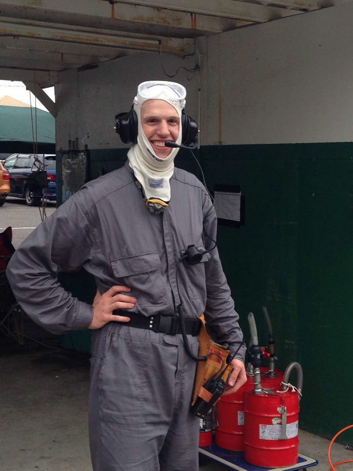 Chief mechanic, pit boss and all round good guy Brian
