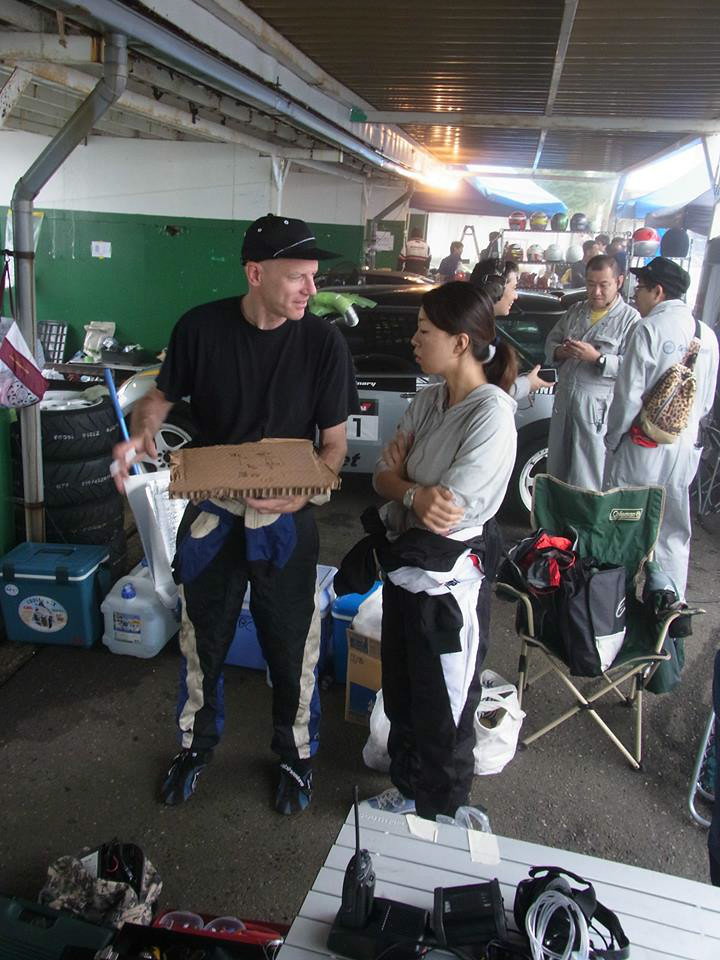 Pit work planning  pic courtesy of Brian: