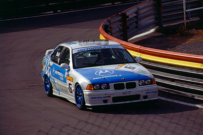 Justin Bell - Motorola Pagers Racing BMW 318i.