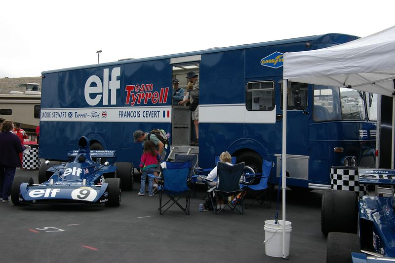 Vintage Tyrrell Team Transporter