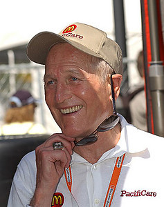 Photo from the Champ Car website. The late PAUL NEWMAN, owner in the Newman/Haas racing team    ...from Feistman