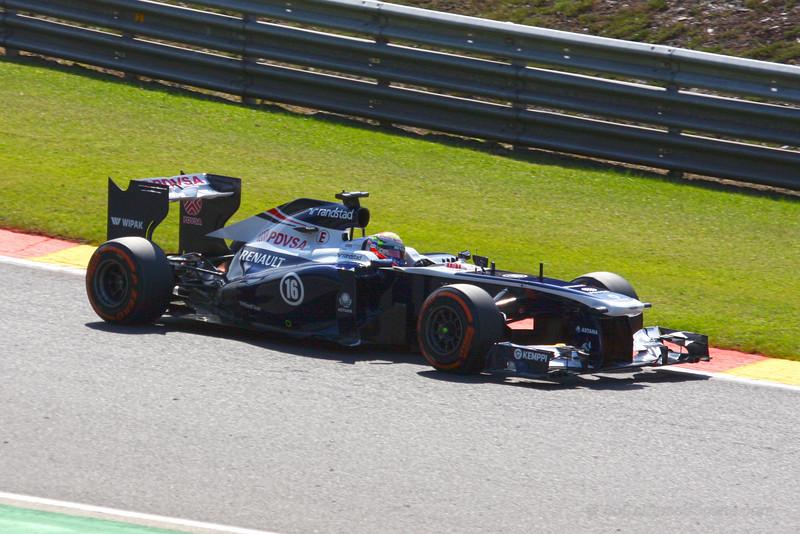 Pastor Maldonado - 2013 Belgian Grand Prix