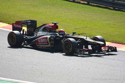 Kimi Raikkonen - 2013 Belgian Grand Prix