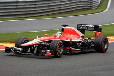 Jules Bianchi - 2013 Belgian Grand Prix