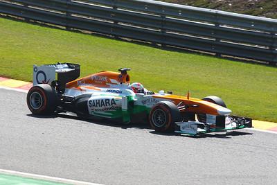 Paul di Resta - 2013 Belgian Grand Prix