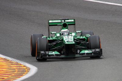 Charles Pic - 2013 Belgian Grand Prix