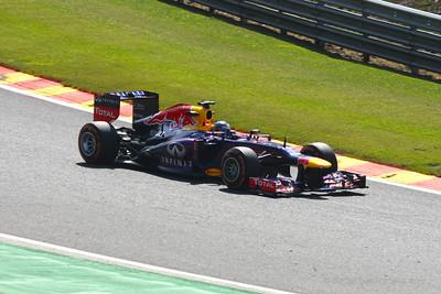 Sebastian Vettel - 2013 Belgian Grand Prix