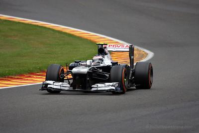 Valtteri Bottas - 2013 Belgian Grand Prix