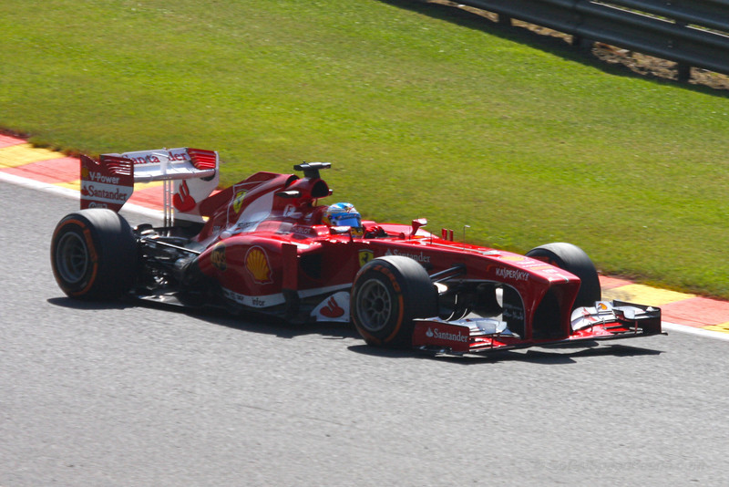 Fernando Alonso - 2013 Belgian Grand Prix