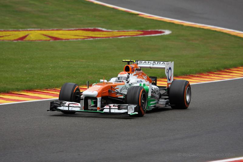 Adrian Sutil - 2013 Belgian Grand Prix