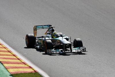 Nico Rosberg - 2013 Belgian Grand Prix