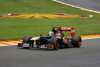 Jean-Eric Vergne - 2013 Belgian Grand Prix