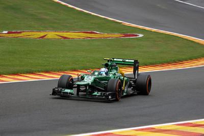 Giedo van der Garde - 2013 Belgian Grand Prix