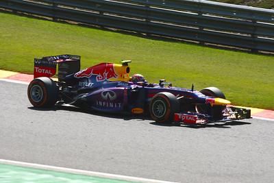 Mark Webber - 2013 Belgian Grand Prix