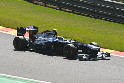 Vatteri Bottas - 2013 Belgian Grand Prix