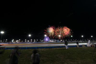 Rolex 24 Fireworks