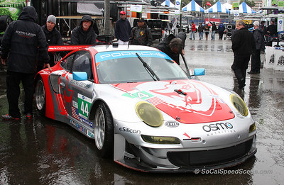 Flying Lizard Motorsports Porsche 911 RSR - Toyota Grand Prix of Long Beach ALMS