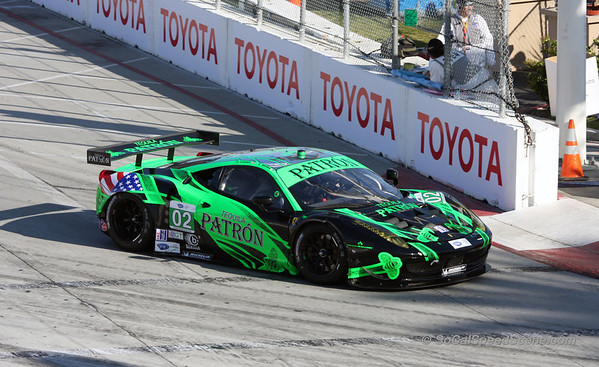 Extreme Motorsports Ferrari 458 - Toyota Grand Prix of Long Beach ALMS