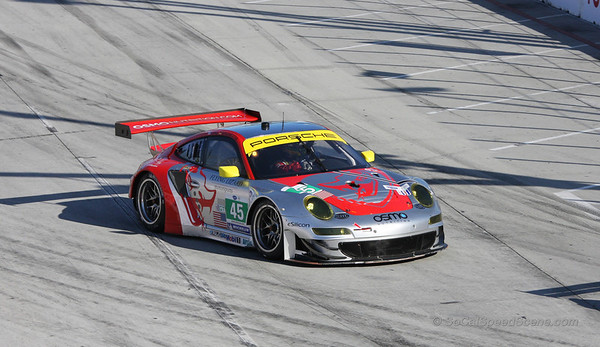 Flying Lizard Motorsports Porsche 911 RSR #45 - Toyota Grand Prix of Long Beach