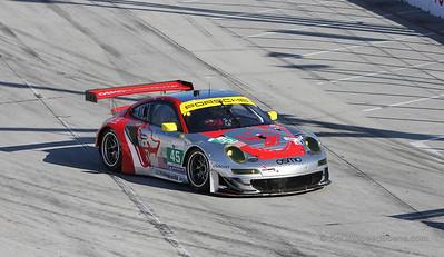 Flying Lizard Motorsports Porsche 911 RSR #45 - Toyota Grand Prix of Long Beach